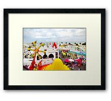 Luna Park Melbourne Framed Print