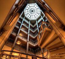 Modern Atrium by Adam Bykowski