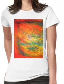 """Bipolar Side A"" Womens Fitted T-Shirt"