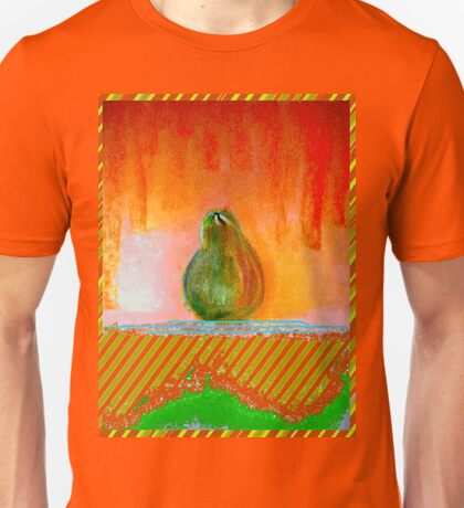 """Enhanced Pear"" Unisex T-Shirt"