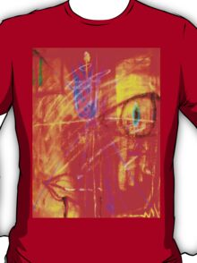 """Red Tulip Lady"" by Chip Fatula T-Shirt"
