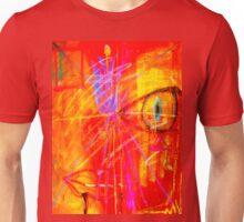 """Red Tulip Lady"" Unisex T-Shirt"