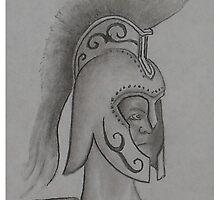 Trojan Helmet by Troy Brown