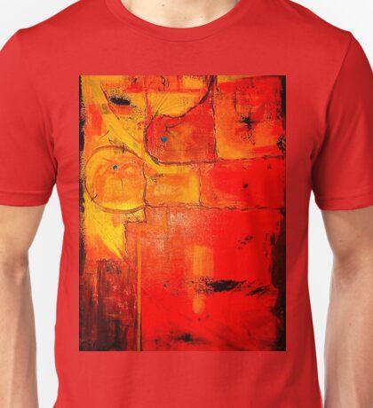 """Orange Abstract"" Unisex T-Shirt"