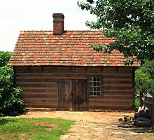 Old Salem Cottage by Frank Romeo