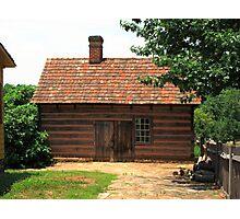 Old Salem Cottage Photographic Print