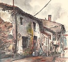 Old house in Guardo by Adolfo Arranz