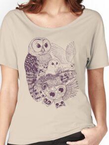Owl Movement Women's Relaxed Fit T-Shirt