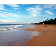 Beach in Sri Lanka Photographic Print