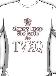 TVXQ: Always Keep The Faith T-Shirt