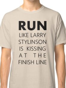 run like larry stylinson Classic T-Shirt