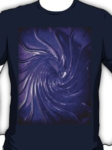 """Purple Swirl Martini Glass"" by Chip Fatula T-Shirt"