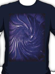 """""""Purple Swirl Martini Glass"""" by Chip Fatula T-Shirt"""