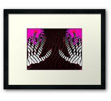 Desert Hands Framed Print