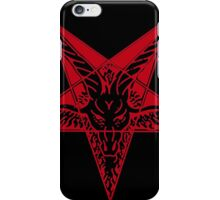 Satanic goat iPhone Case/Skin