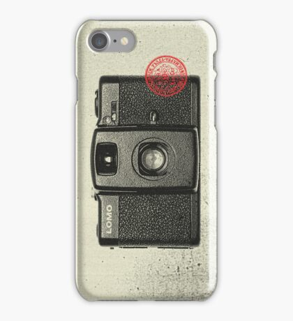 Lomo LC-A+ iPhone Case/Skin