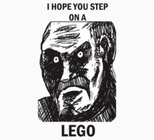 I Hope You Step On A Lego by saphiresong