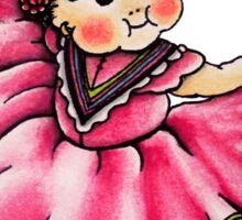 Kewpie Girl Sticker