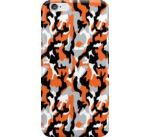 Orange Camoflauge iPhone Case/Skin