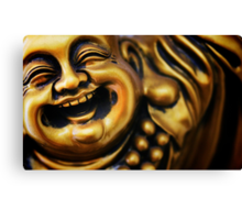 Beaming Buddha  Canvas Print