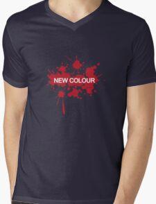 New colour Mens V-Neck T-Shirt