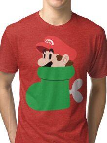 Boot Mario Tri-blend T-Shirt