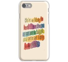 Helping the Universe iPhone Case/Skin