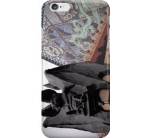 Gargoyle on Funhouse iPhone Case/Skin