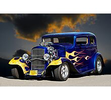 1932 Ford Vicky Sedan Photographic Print