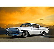 1958 Chevrolet Impala Photographic Print