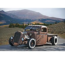 Rowdy Rat Rod Photographic Print