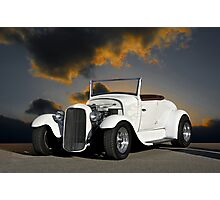 1929 Ford Model A Roadster Photographic Print