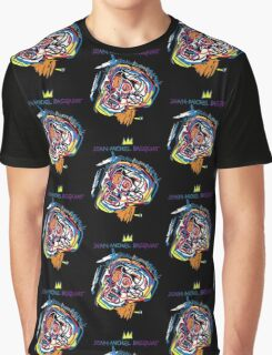 Jean Michel Basquiat Head Version 2 Graphic T-Shirt
