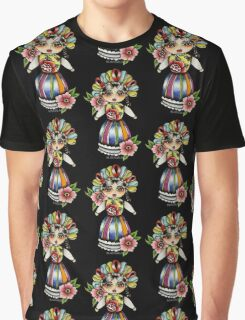 Mexican Doll Graphic T-Shirt