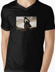 Idyllic Summer Morning Mens V-Neck T-Shirt