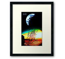 Parkway Drive Atlas Artwork Framed Print