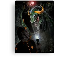 IN THE DRAGONS DEN ! Canvas Print