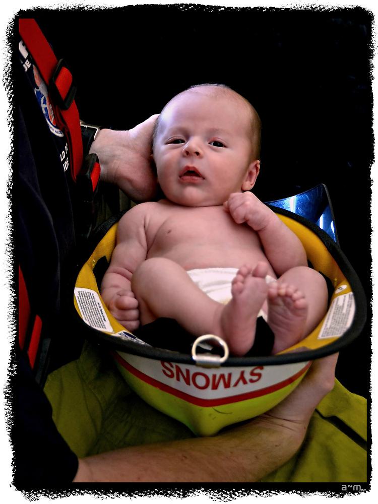 ~The Littlest Fireman~ by a~m .