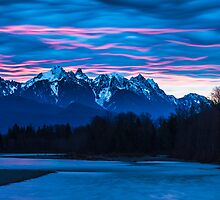 Sky River Sunrise by Jim Stiles