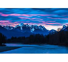 Sky River Sunrise Photographic Print