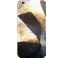 Flow Form Fountain, Rudolf Steiner College iPhone Case/Skin