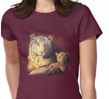 Tigers: Madonna Wild Womens Fitted T-Shirt