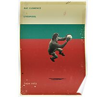Ray Clemence - Liverpool Poster