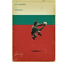Ray Clemence - Liverpool Photographic Print