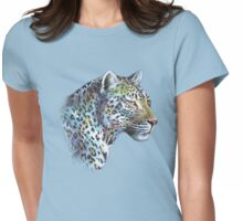Leopard: Moonlight in A-Minor Womens Fitted T-Shirt