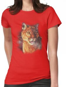 Cougar: Morning Chill Womens Fitted T-Shirt