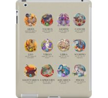 Dinosaur Astrology Chart iPad Case/Skin