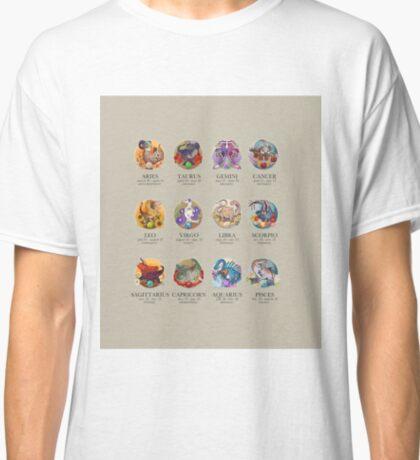 Dinosaur Astrology Chart Classic T-Shirt