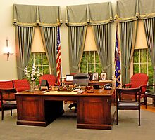 Replica Truman Oval Office by Graeme  Hyde