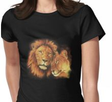 Lions: Soulmates Womens Fitted T-Shirt